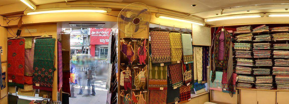 Mysore Silk Emporium Chickpet Bangalore Famous For Silk
