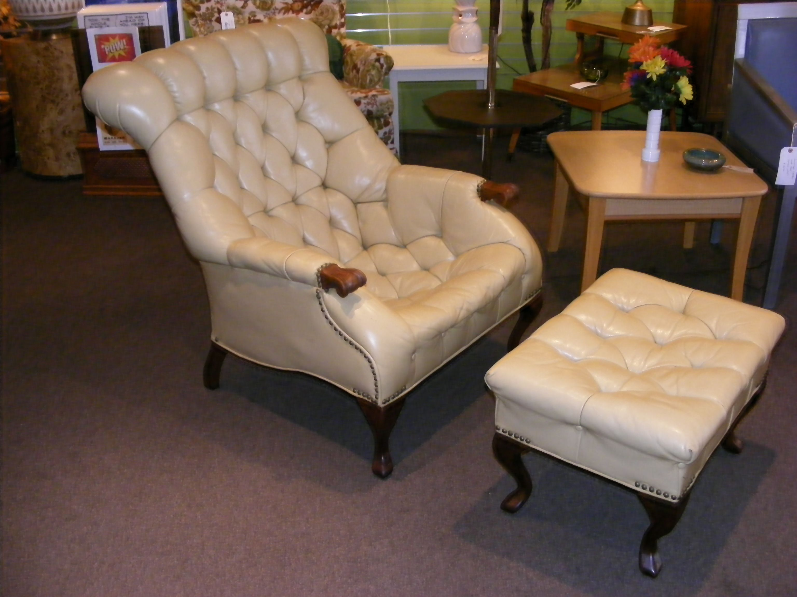 Wonderful Carl Forslund Leather Sleepy Hollow Chair U0026 Ottoman! Made Right Here In  West Michigan!