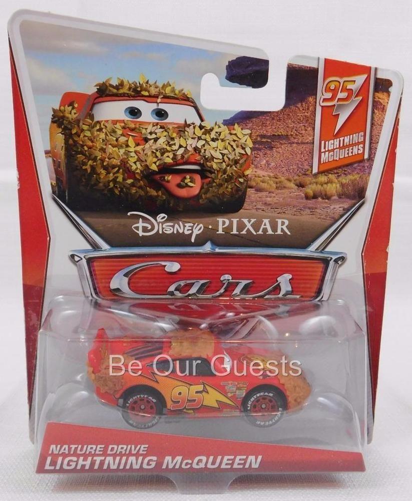 Disney Pixar Cars Nature Drive Lightning McQueen 95 Series  5 of 5 for sale online   eBay
