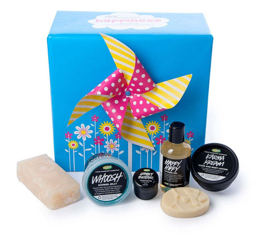 Mother's Day healthy gifts: Lush Happiness gift box, $42.95, Lush.