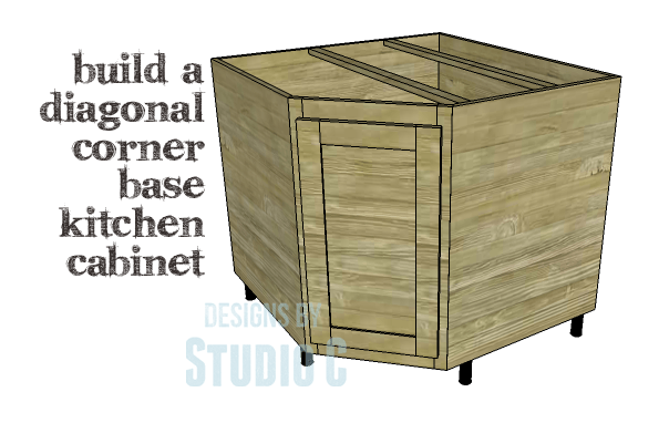 best how to build a sink cabinet. DIY Plans to Build a Diagonal Corner Base Kitchen Cabinet Copy