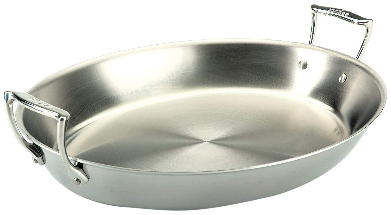 stainless steel cake pans walmart