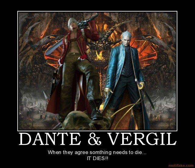Vergil and Dante - Devil May Cry