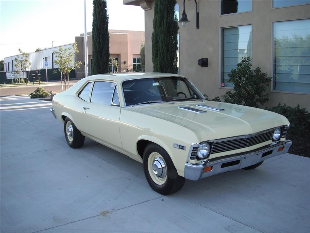 1968 Chevrolet Chevy Ii Nova Custom 2 Door Hardtop Barrett