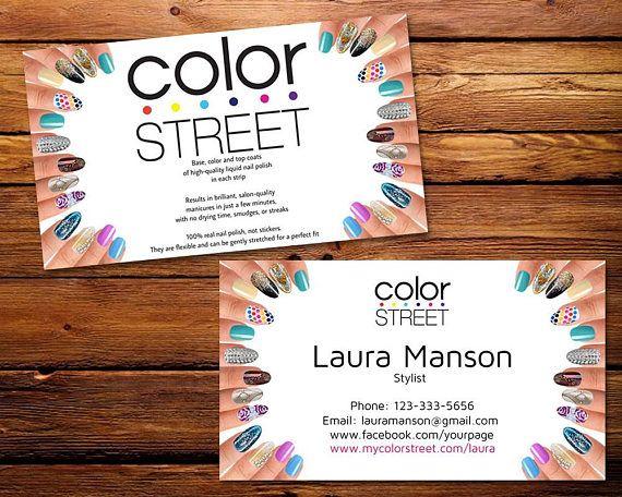 Top 10 Punto Medio Noticias Color Street Business Card Images