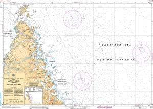 CHS Nautical Chart 5027: Murphy Head to/aux Button Islands