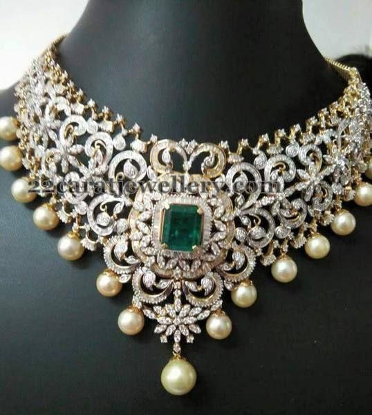 bridal diamond set matching jhumkas bridal jewelry. Black Bedroom Furniture Sets. Home Design Ideas