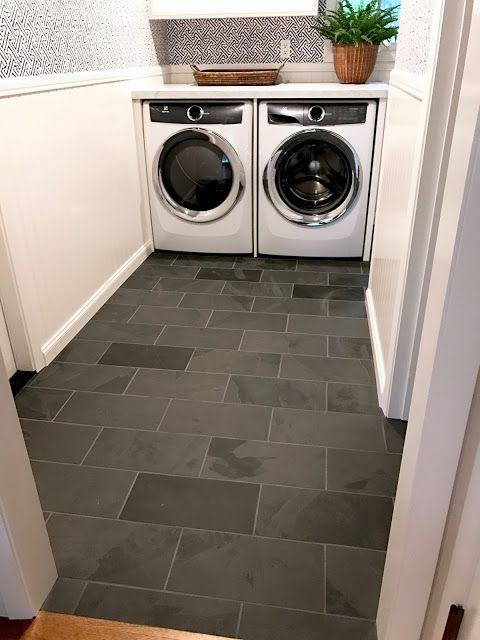 I M Obsessed With Black Slate Floors So Inexpensive Yet So