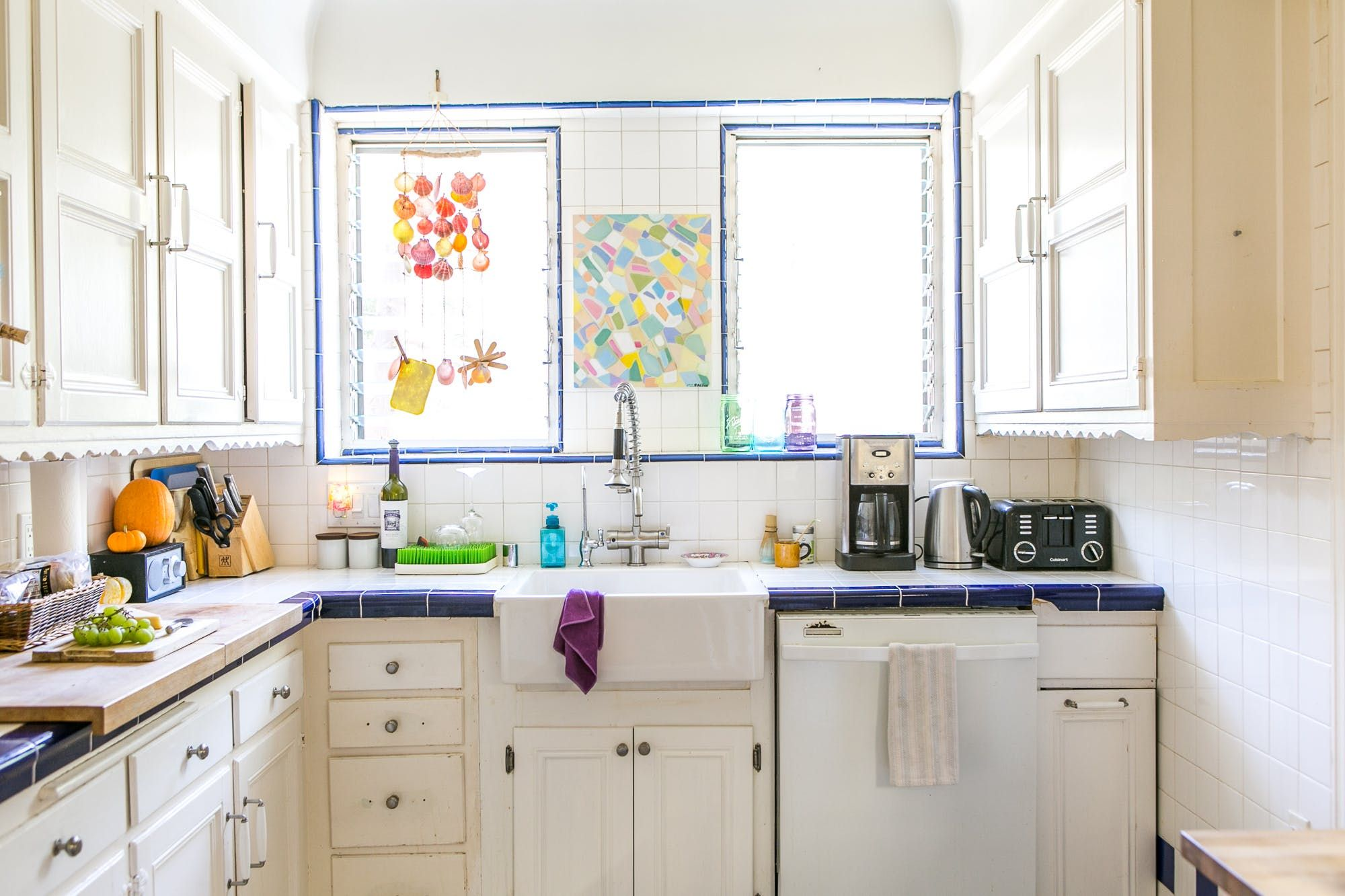 Sliding window over kitchen sink   little chores to get your kitchen ready for summer   house