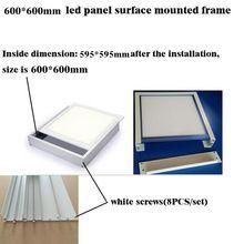 Led Panel Light Surface Mounted Aluminum Frame 60x60