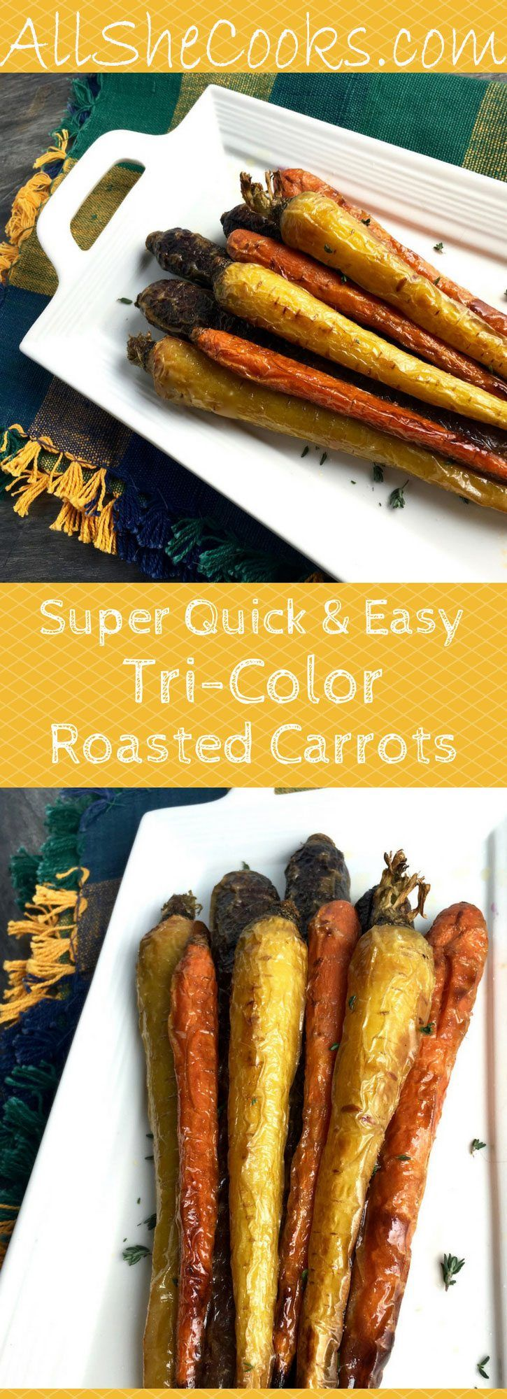 How to make roasted carrots for a healthy meal with superfood power. Carrots are a great diet food.
