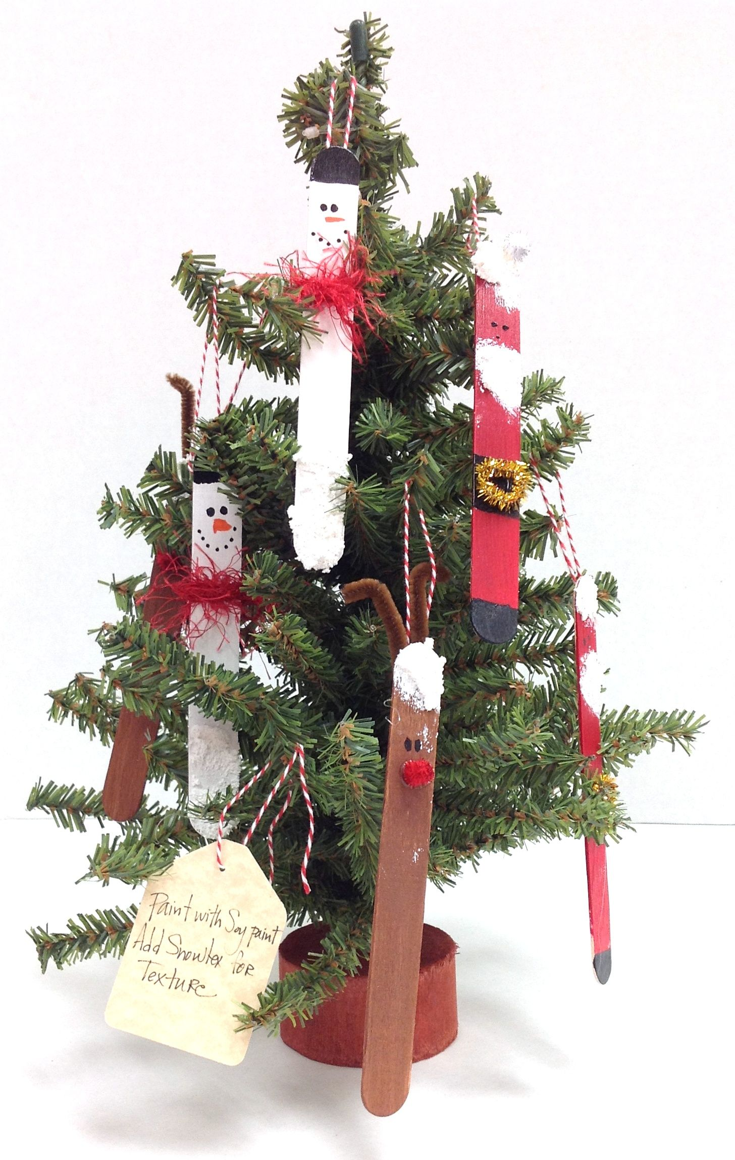 23+ Popsicle stick christmas crafts for preschoolers ideas