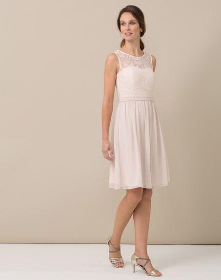 Accessoires pour robe rose pale