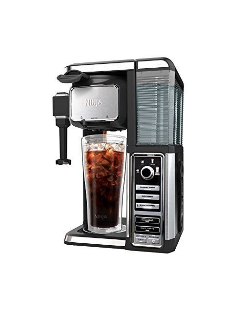 Amazon Ninja Coffee Bar Single Serve System with Built In