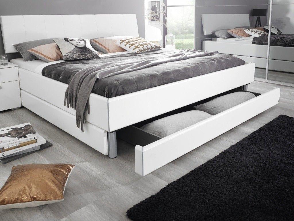 Schlafzimmer Rauch ~ Rauch select doppelbett bettkasten alpinweiß möbel mit