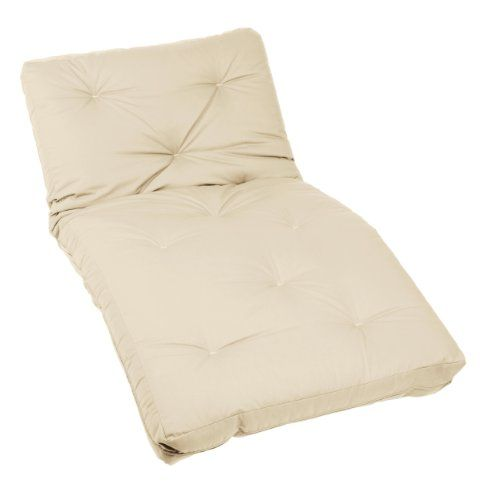 Mozaic Twin Size 10 Inch Futon Mattress Ivory For Only 141 73