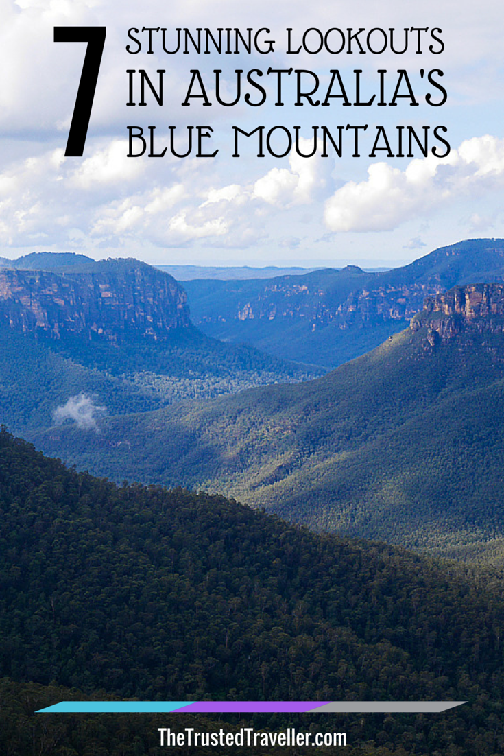 Govetts Leap, Blackheath - 7 Stunning Lookouts in Australia's Blue Mountains - The Trusted Traveller - #travel #traveltips #australia #bluemountains