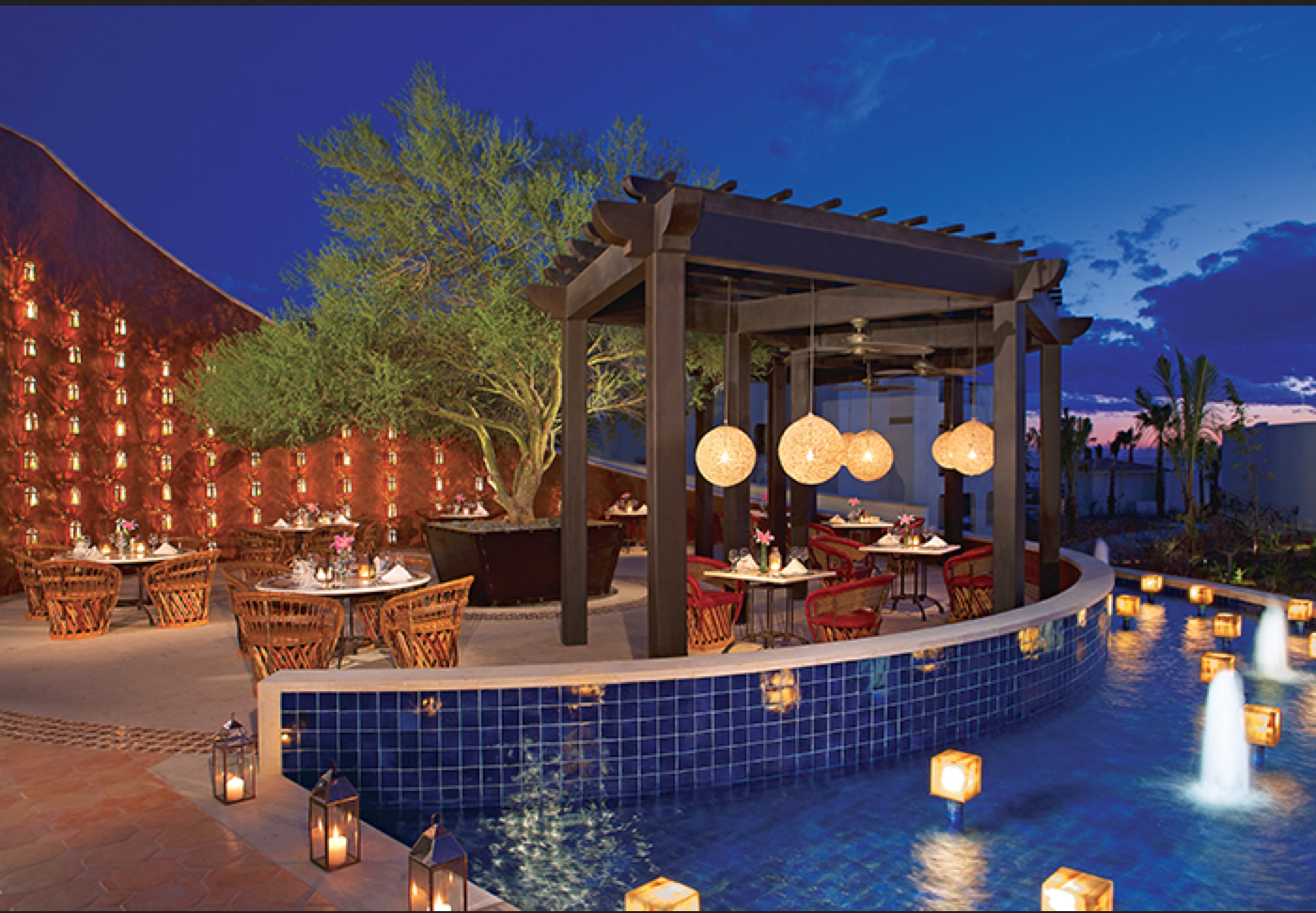 Visit El Patio At Secrets Puerto Los Cabos For Amazing Cuisine With An  Incredible View!