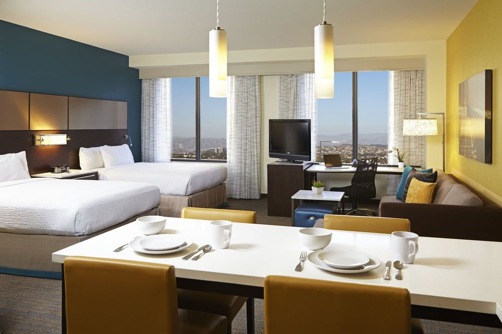 Residence Inn By Marriott Los Angeles Lax Century Boulevard Hotels Com Hotel Residences Hotel Reviews