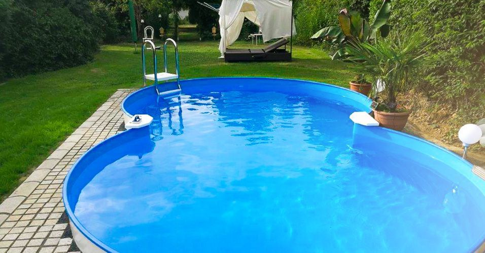 Achtformpool Pool Im Garten Eingelassen Stahlwand Achtformpool Poolsana Hq 4 70 X 3 00 X 1 20 M Pure Set Freiaufstellung Teileinb In 2020 Pool Outdoor Outdoor Decor