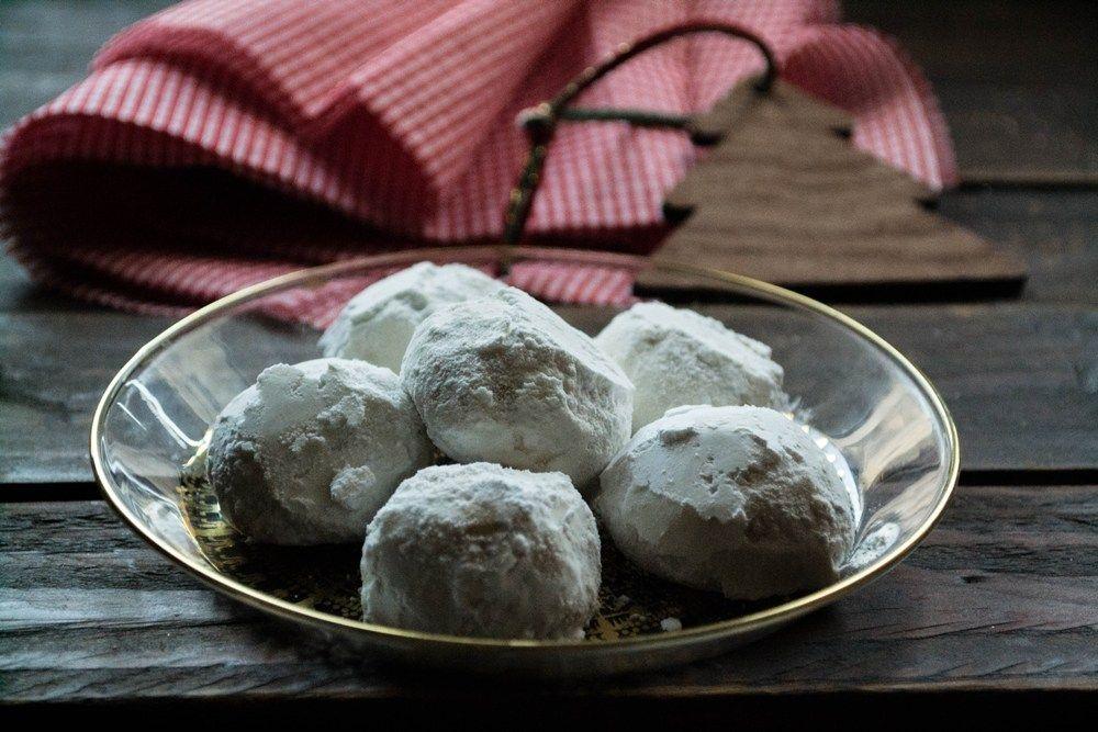 Νηστίσιμοι κουραμπιέδες αμυγδάλου | Food, Chocolate, Desserts