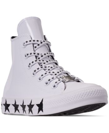 Converse Women s Chuck Taylor All Star x Miley Cyrus High Top Casual  Sneakers from Finish Line - White 5 aed4cef593c