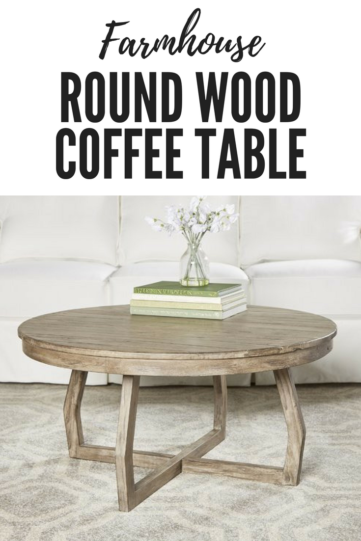 Modern Farmhouse Round Wood Coffee Table Affiliate Modern Farmhouse Coffee Table Wood Round Livingroom Coffee Table Wood Coffee Table Fireplaces Layout [ 1102 x 735 Pixel ]