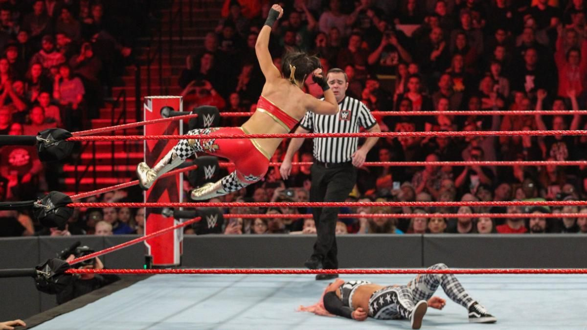 Photos Trio Of Team Red Tandems Battle With Major Elimination Chamber Match Ramifications Wwe Photos Wwe Womens Tandem