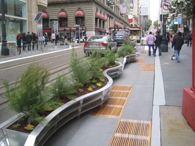 street landscaping landscape