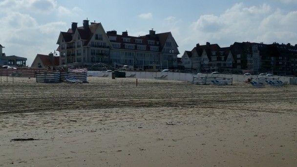 Playa de Hann.Belgica.9-9-2015