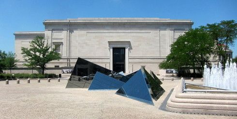 """""""The most magical moment for me in DC is the National Gallery of Art's East Building by I. M. Pei opposite John Russell Pope's neoclassical West Building … So thoughtful and brilliant."""" -Darryl Carter, as told to Mark D. Sikes"""