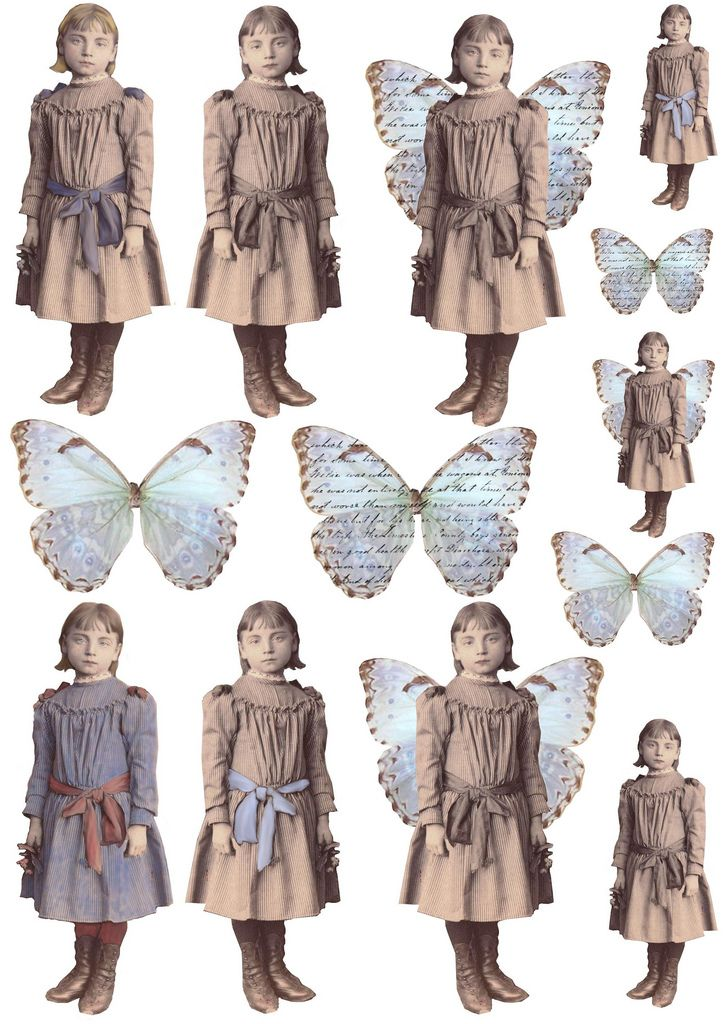 photograph regarding Printable Vintage Paper Dolls titled Minor Lady Printables, Clip Artwork, Ss Collage sheet