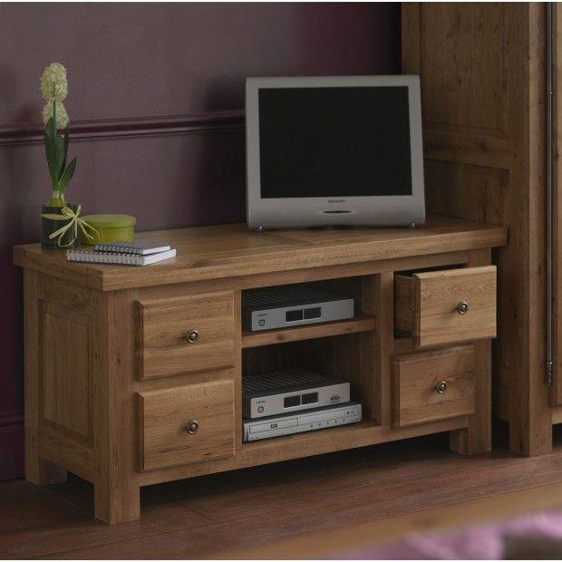 Browse Our Range Of Oak Tv Cabinets Units At Furniture Uk