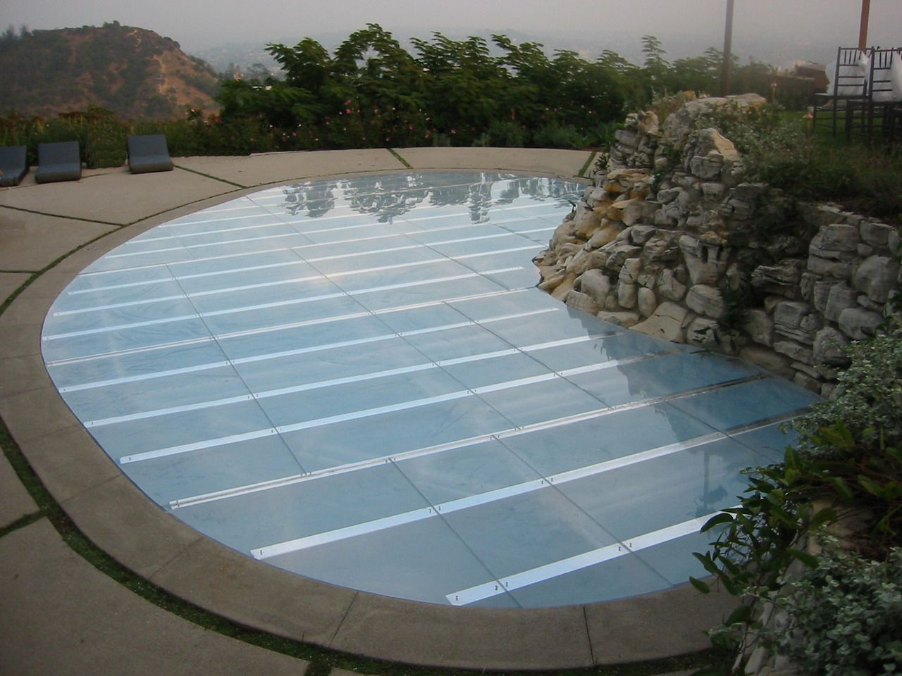 Walk On Water Pool Covers For Backyard Wedding Different