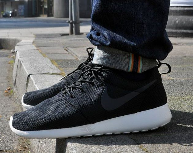 new style a7cfc b17eb Nike Roshe Run – Black Anthracite-Sail