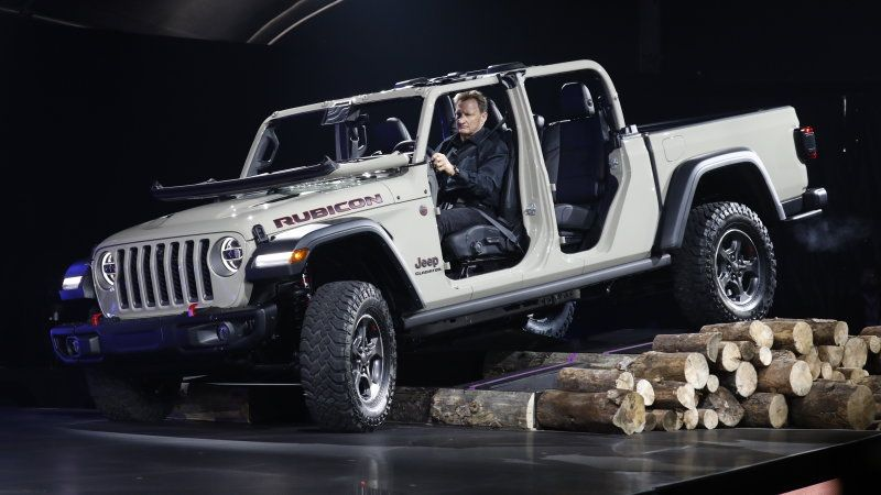 Jeep Gladiator Pickup We Talk Design With Jeep S North America