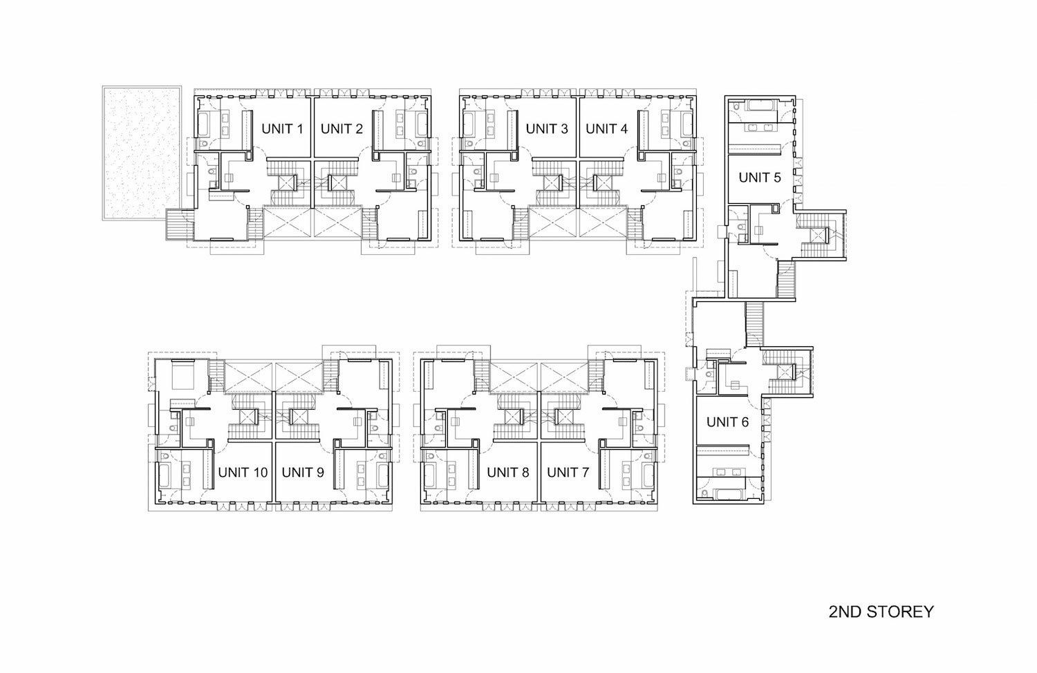 Toh Crescent cluster housing development of ten semi-detached ...