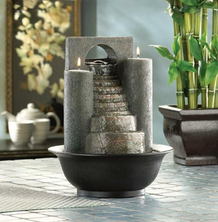 10 Tabletop Water Fountain For Indoor Decorations In 2019