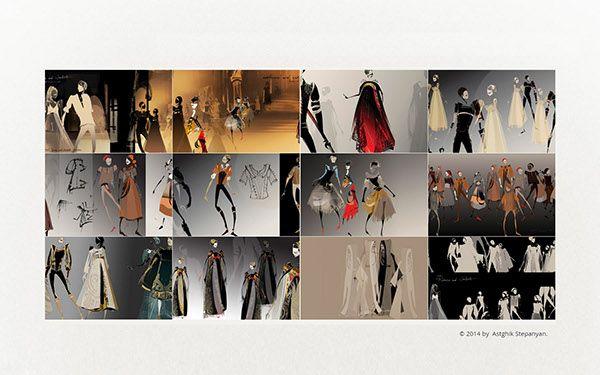 Romeo&Juliet Ballet's Costume and Set Design on Behance