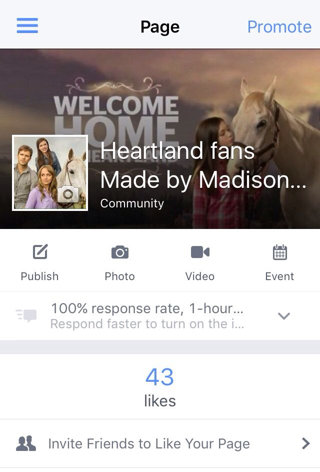 I made this fan page