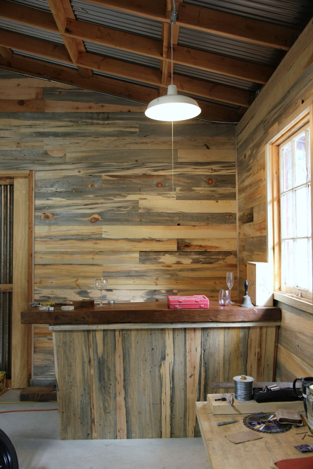 Walls Of Reclaimed Wood From A Forest Fire Gray Marbling Is Nice Home Wood Plank