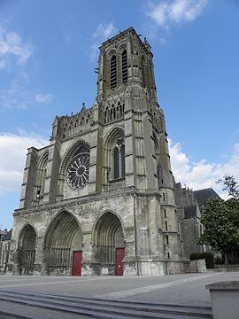 ¨Catedral de Soissons¨. (1176-1479). Anónimo. Soissons, Francia.