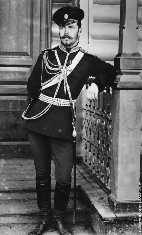 Tsarevitch Nicholas, c. 1890. He became Tsar in 1894 upon the death of his father Tsar Alexander III