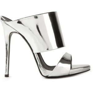 Giuseppe Zanotti Design metallic mules