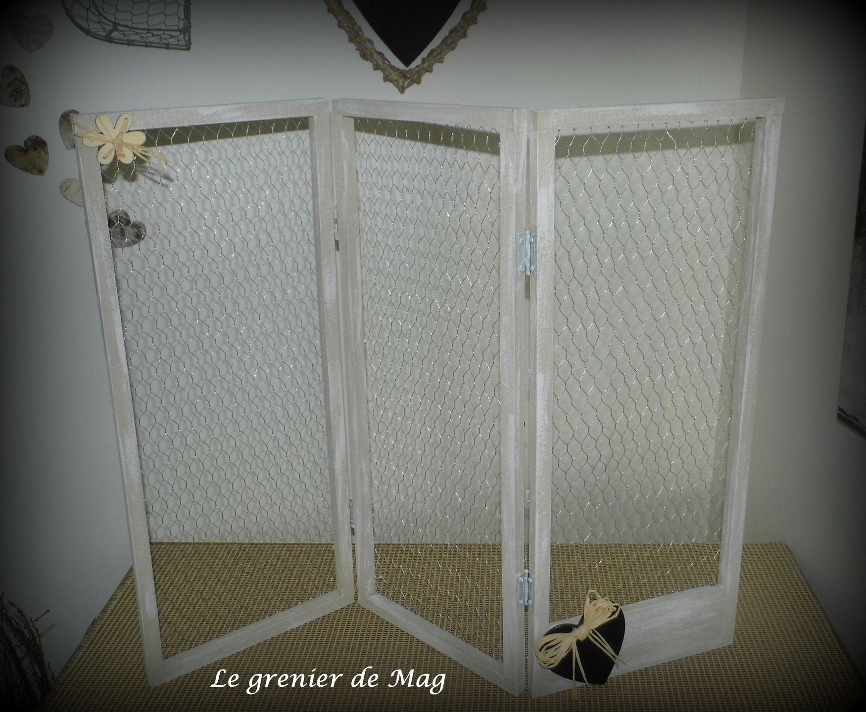 paravent pr sentoir boucles d 39 oreilles ou simple paravent d co pour accrocher pinces linge. Black Bedroom Furniture Sets. Home Design Ideas