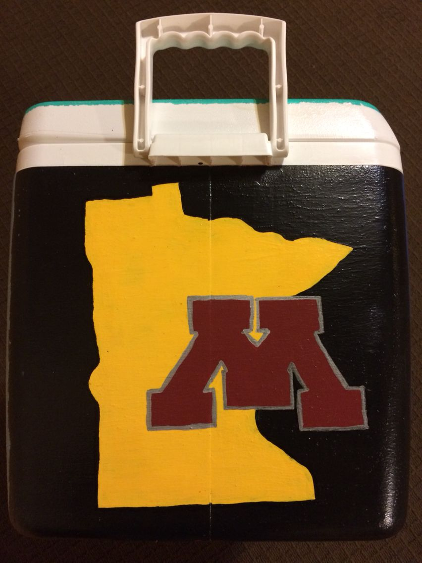 The Minnesota side of the cooler