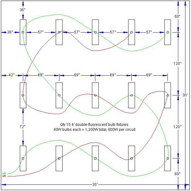 Wiring Garage Led Lights: Need Help Lighting For New Garage-30x30-garage-lighting-v1