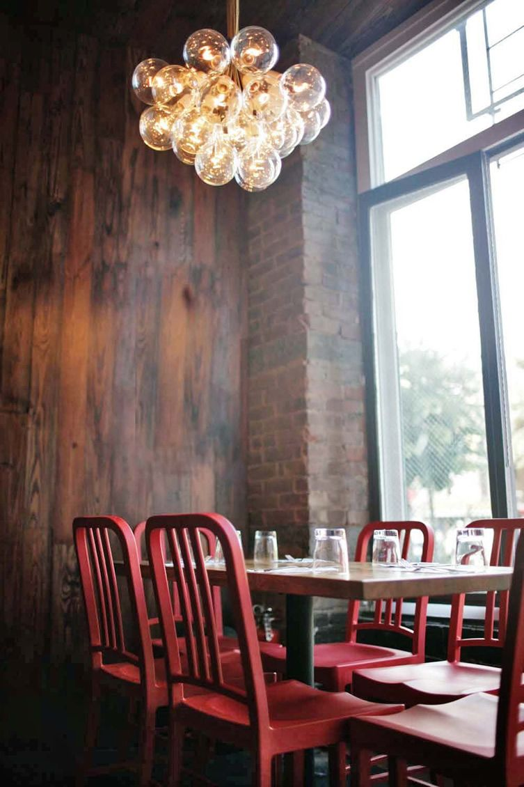 Charming Fort Greene Restaurant Does The Ordinary Extraordinary Well Navy ChairsRed Dining ChairsDining AreaDining RoomsBrooklyn