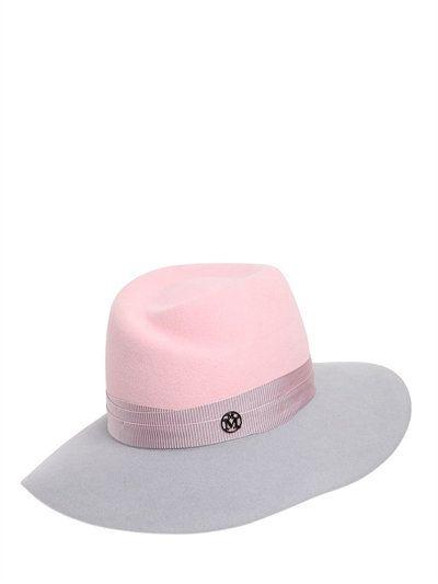 795739eea2f MAISON MICHEL VIRGINIE BICOLOR RABBIT FELT HAT