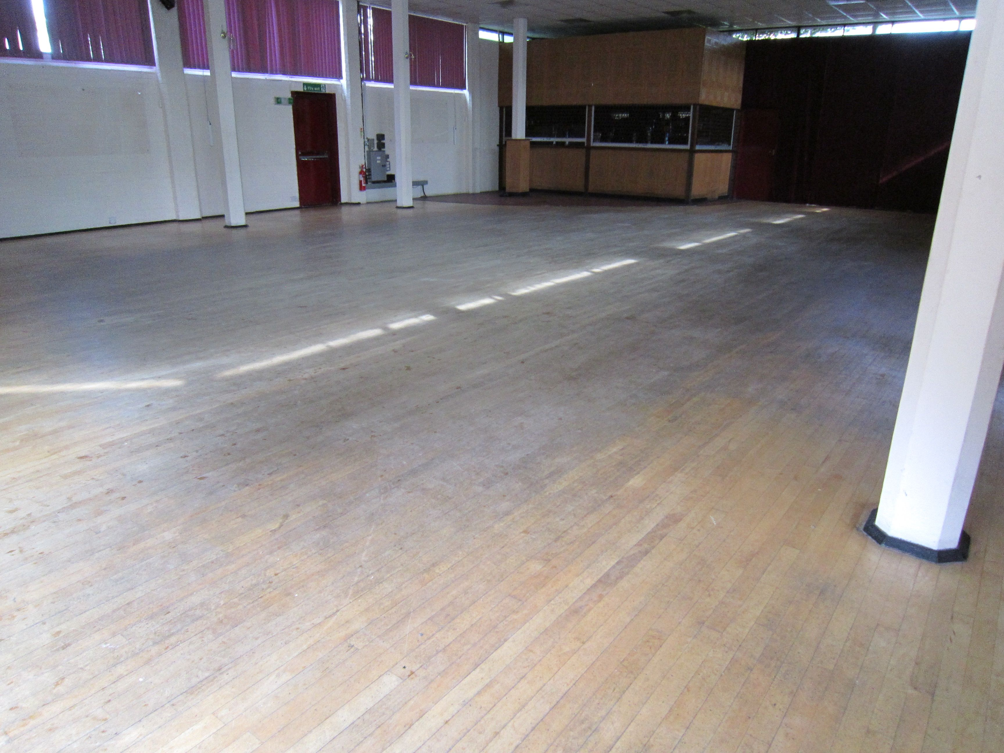 Dancers use this floor most nights and the wood floor was almost worn out when the Floorfixer lads arrived to restore it